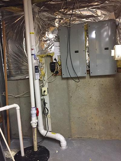 Interior - Drill in Basement to Access Radon Gas
