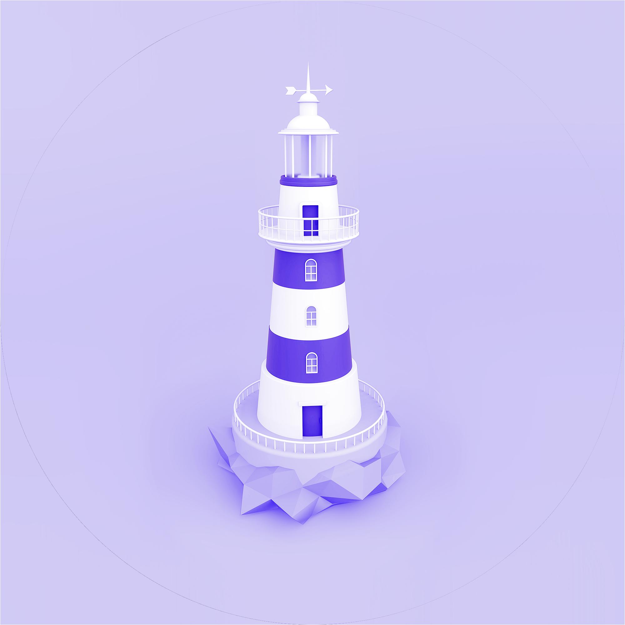 Careers hero image of lighthouse