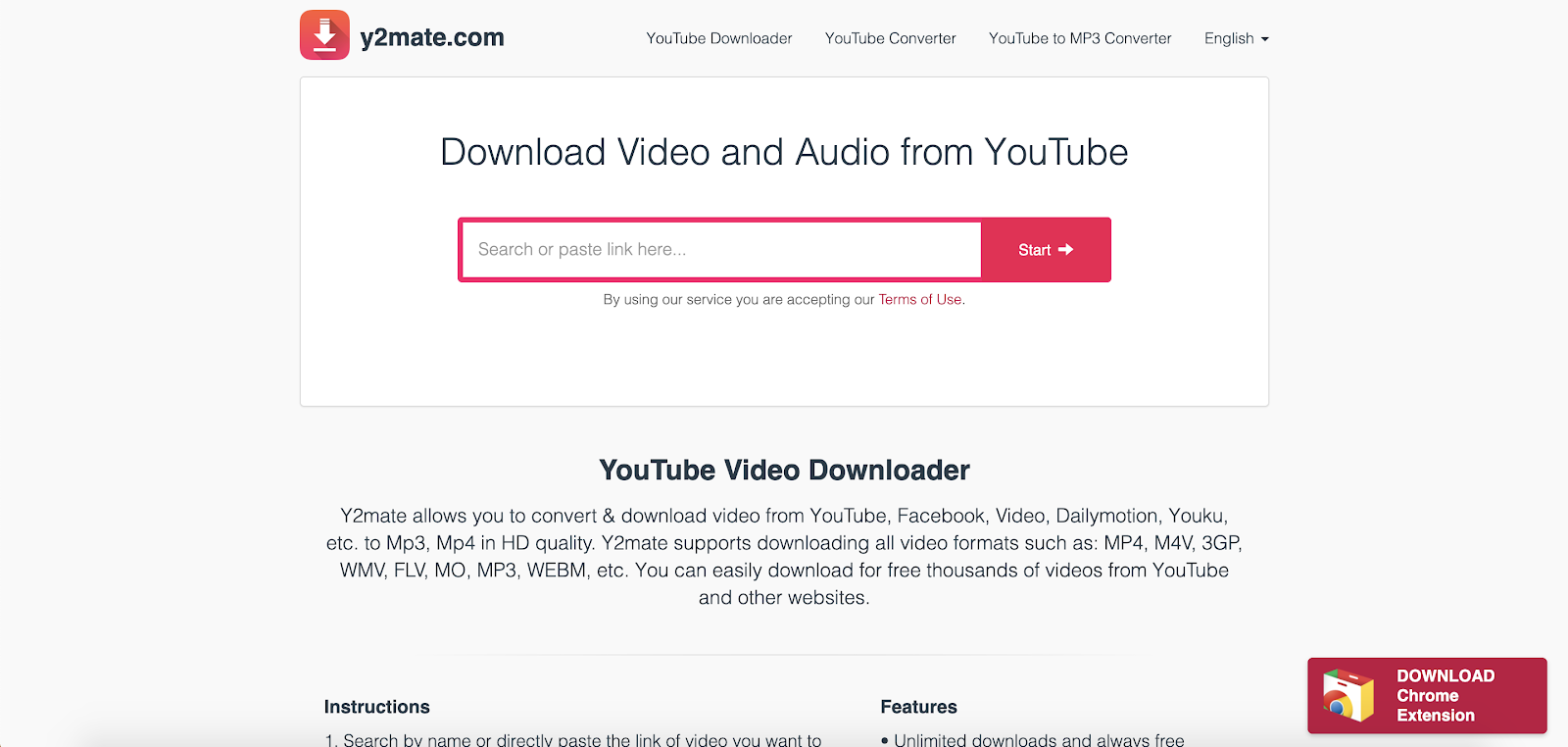 Y2mate Best Top Youtube Downloader