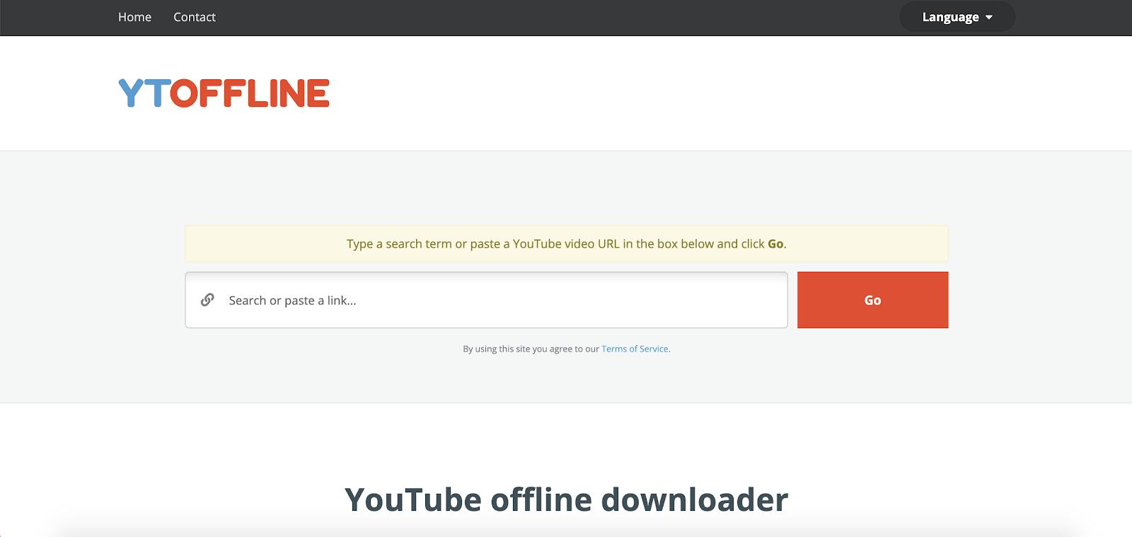 YTOffline Best Top Youtube Downloader