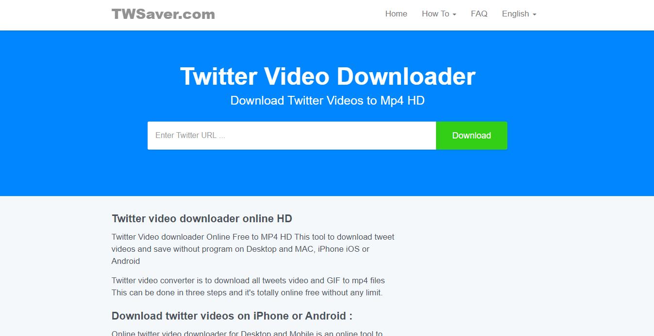 Best Twitter Video Downloaders