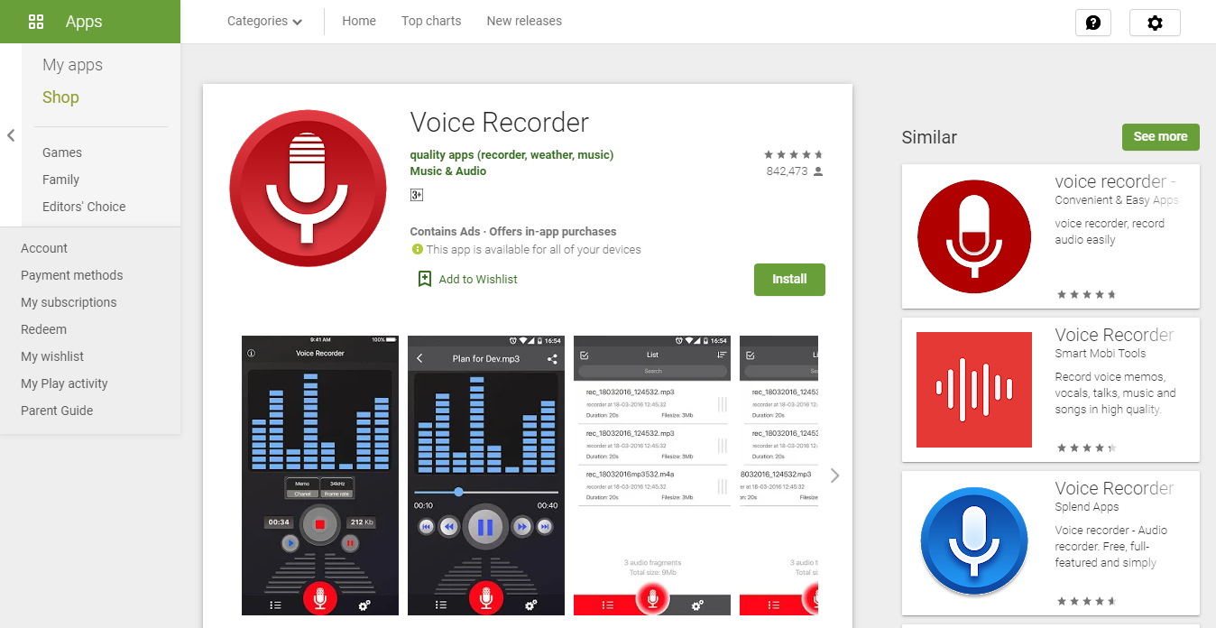 Voice Recording Apps for Android