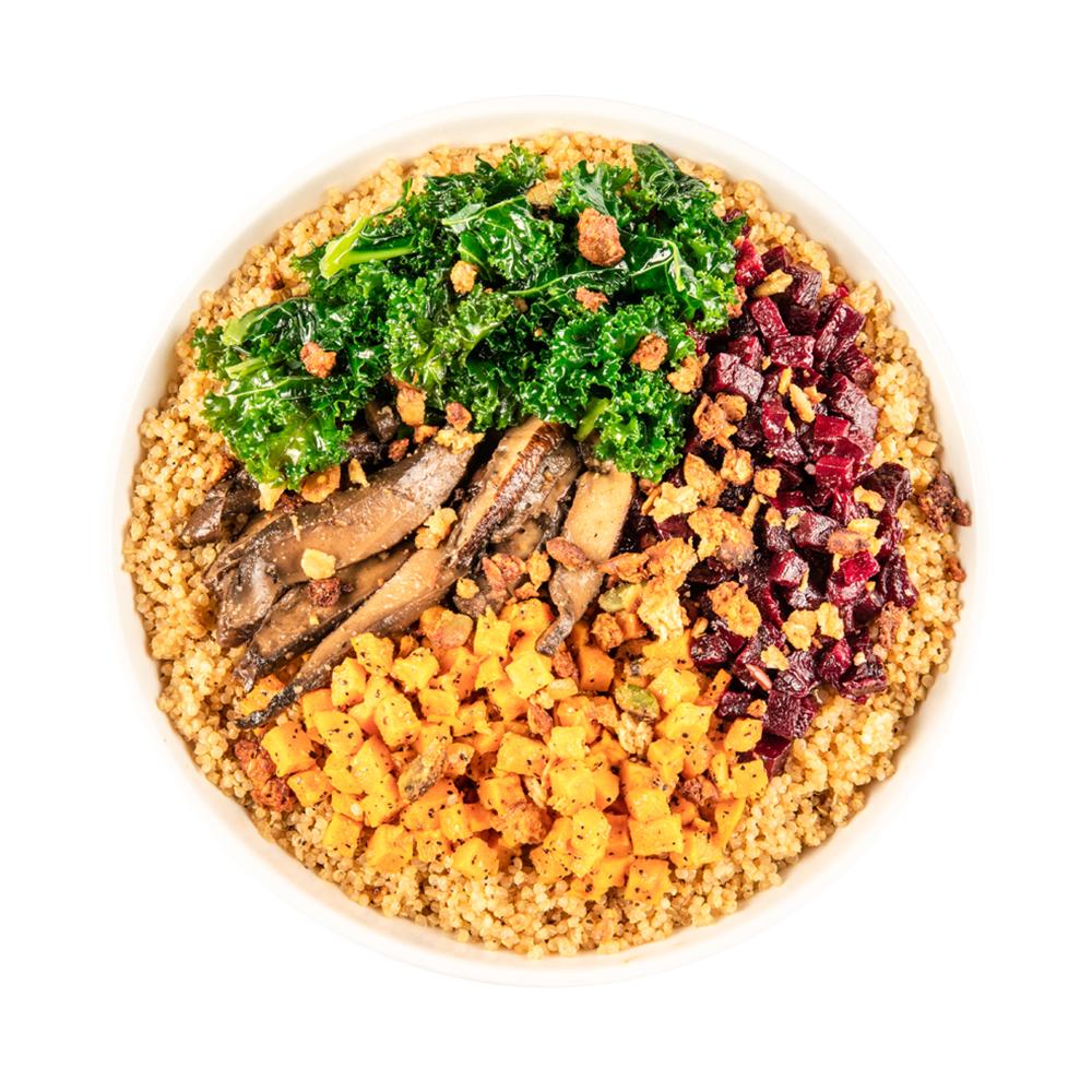Miso-Mushroom Bowl