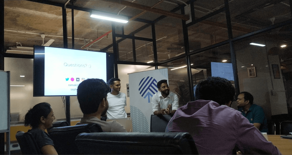 Saptarishi Prakash and Ramakrishna - Hues of User experience Bangalore
