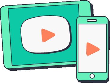 Videos for Social logo