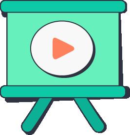 Training videos logo