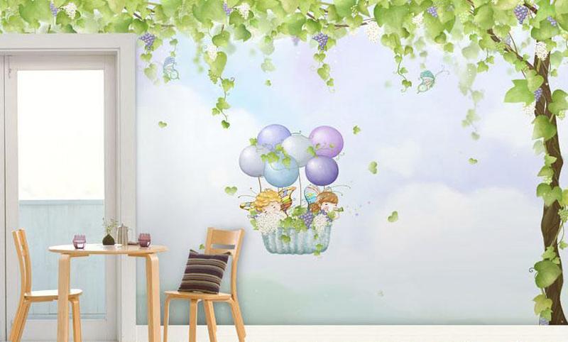 mẫu vẽ tranh tường đơn giản