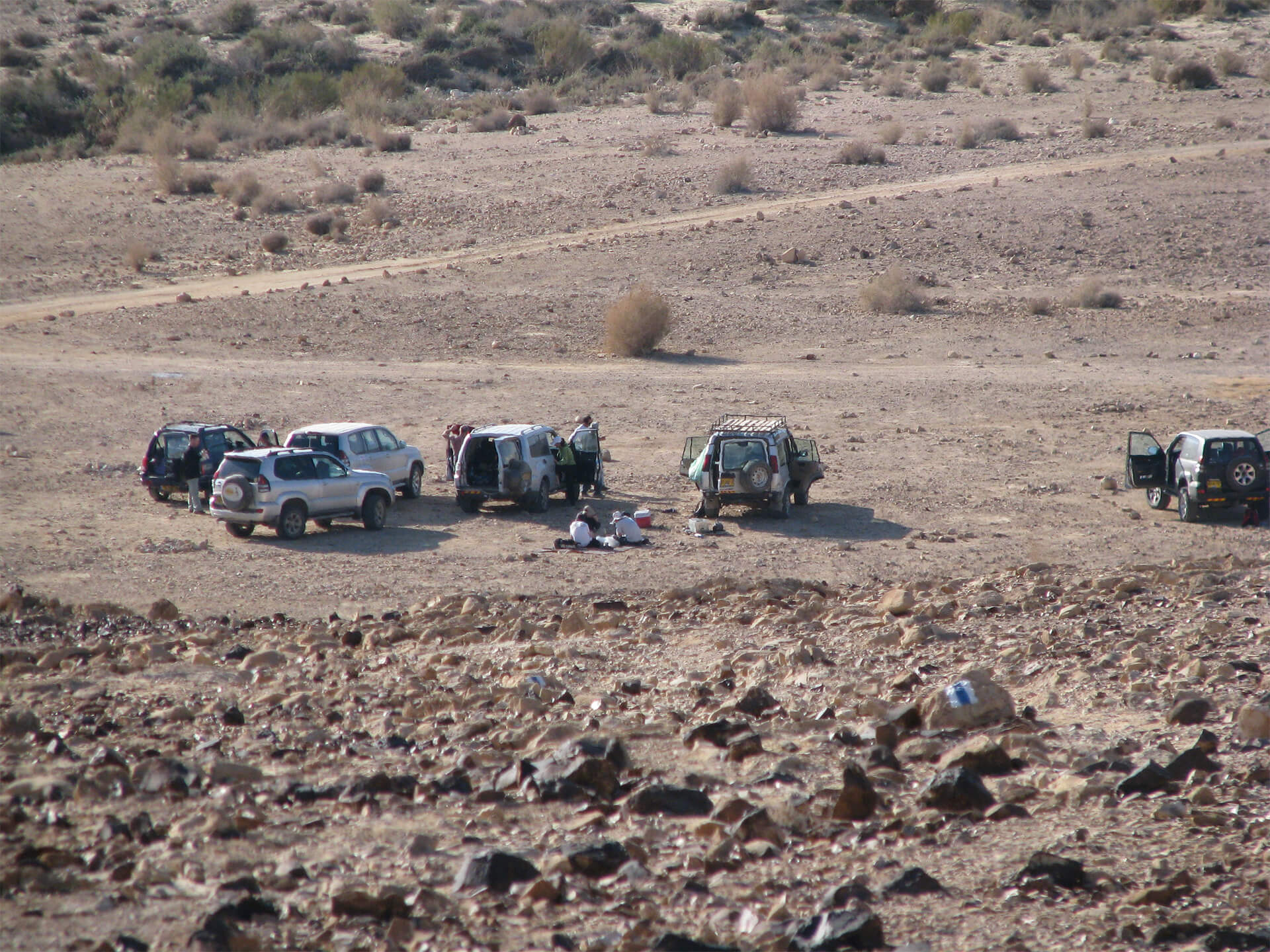 Off Road in the Negev Desert