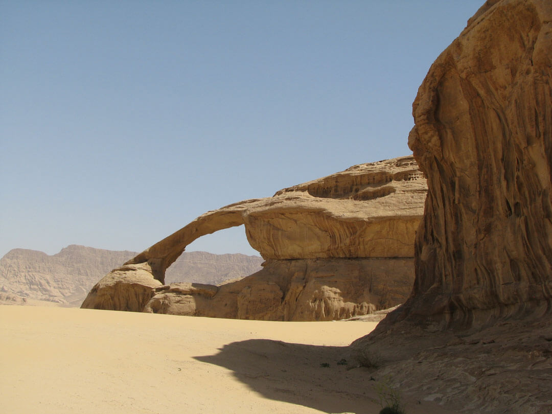 Arch in Wadi Rum