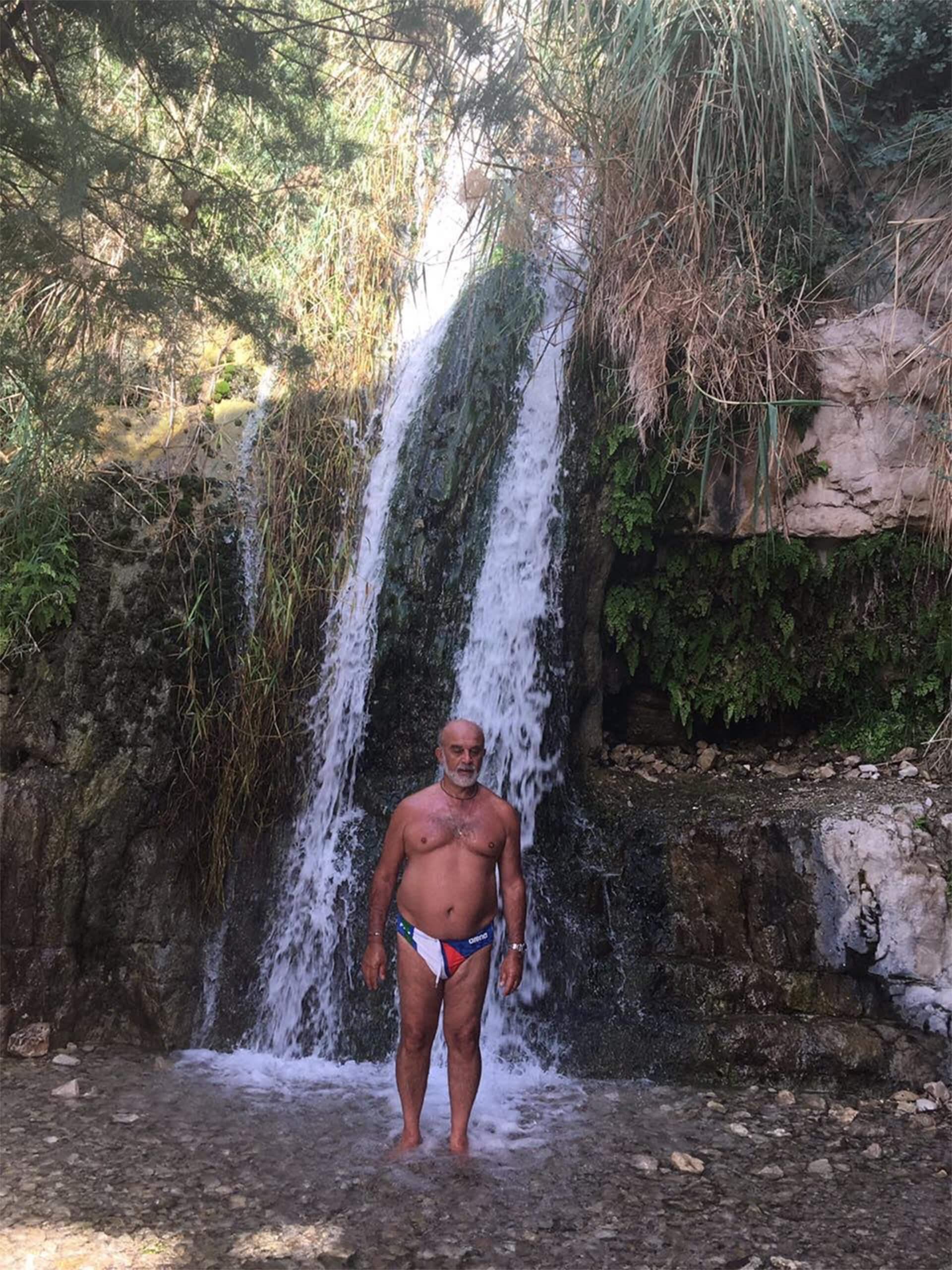 Ein Gedy waterfall