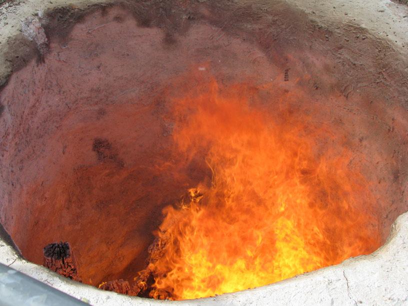 תנור אדמה