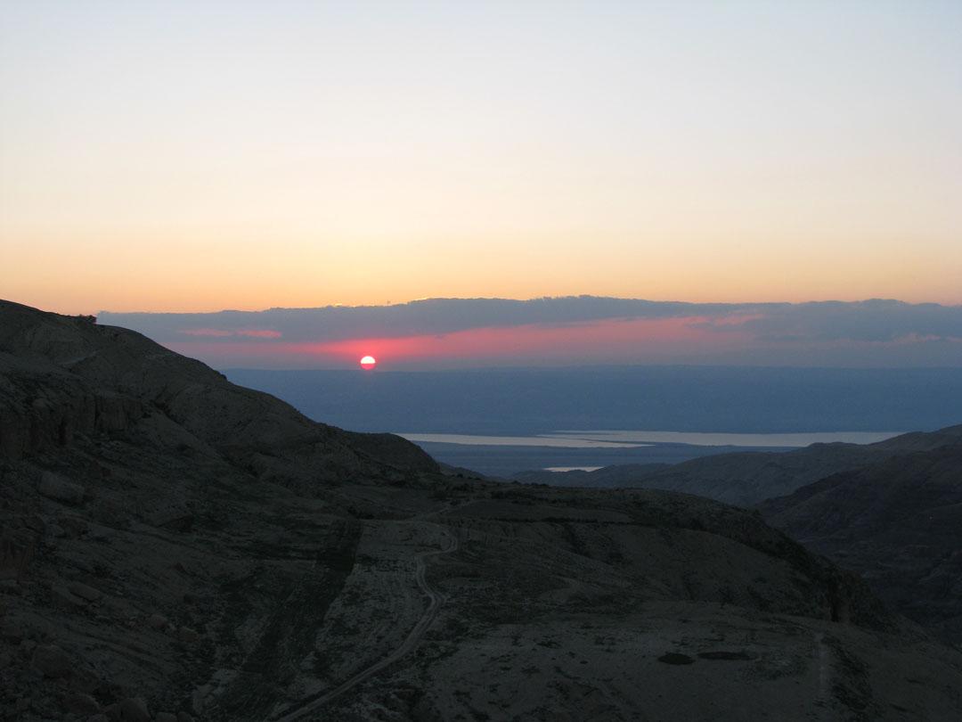 שקיעה הרי יהודה
