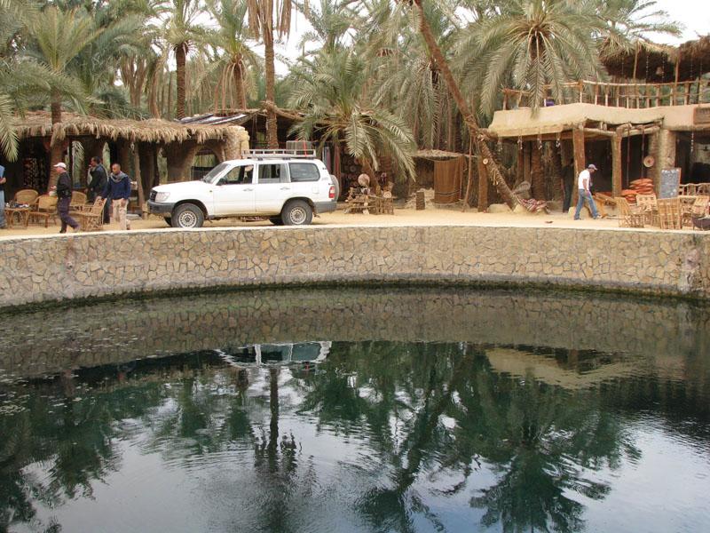 מעיין קליאופטרה במדבר המערבי