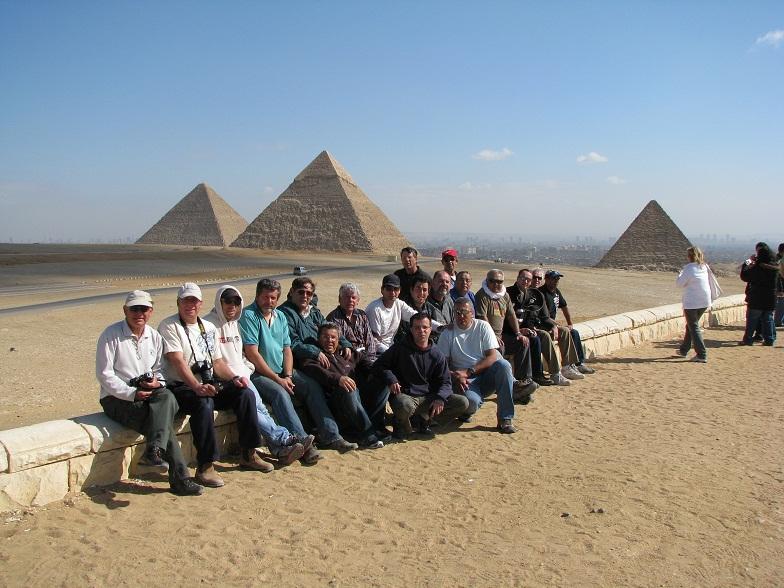 פירמידות בגיזה קהיר - צוות המדבר המערבי