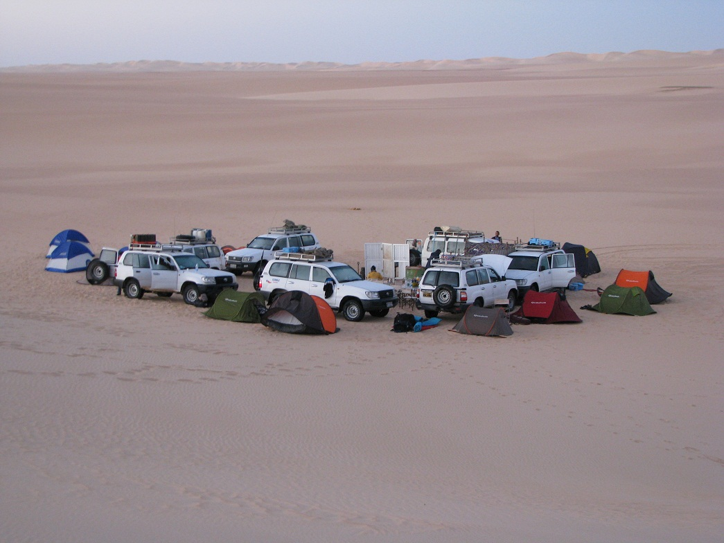 חניית לילה בטיול למצרים