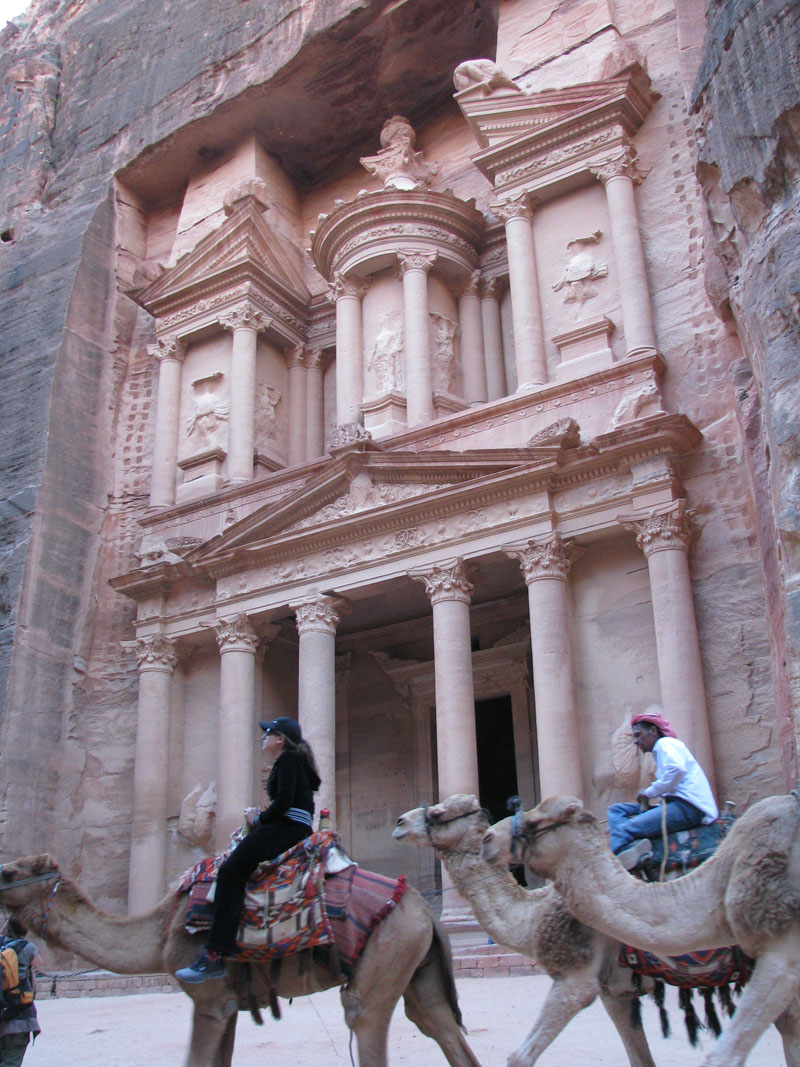 The Hazane in Petra
