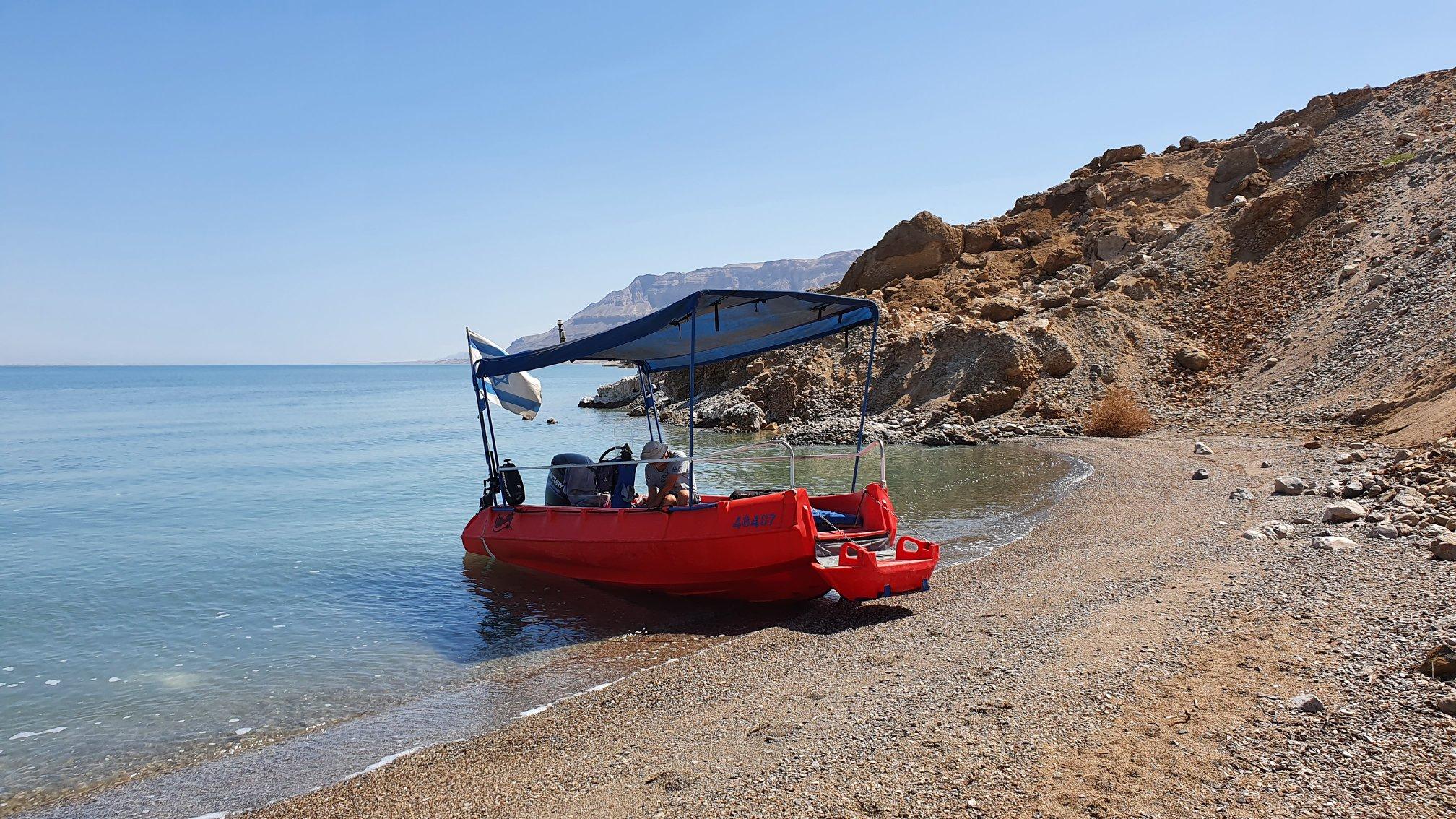 Dead Sea Sailing