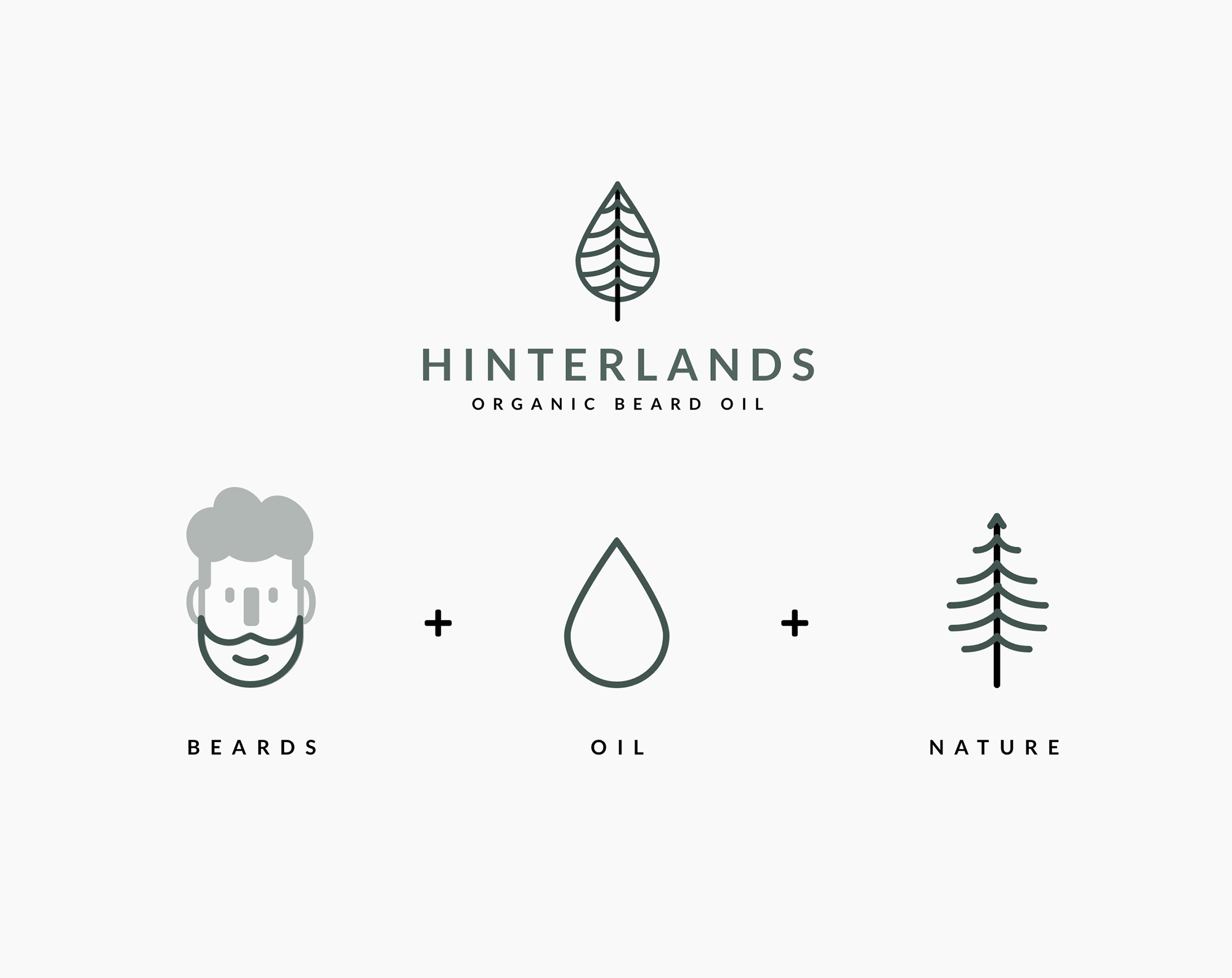 Beards Oil Nature Hinterlands