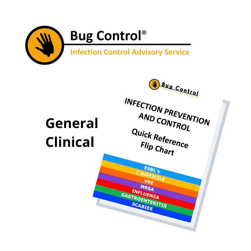 General Infection Control Flip Chart