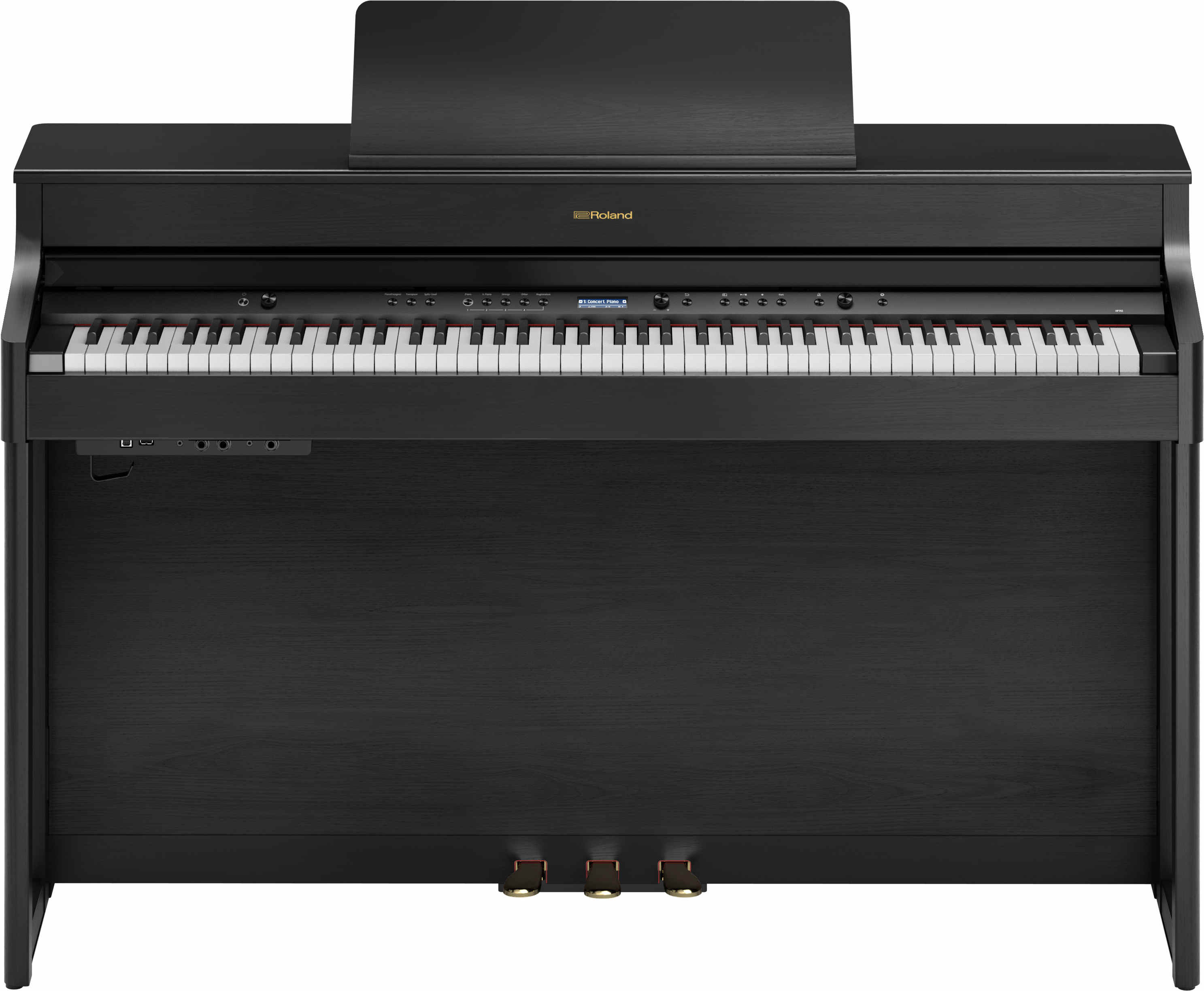Roland HP-702 Charcoal Black