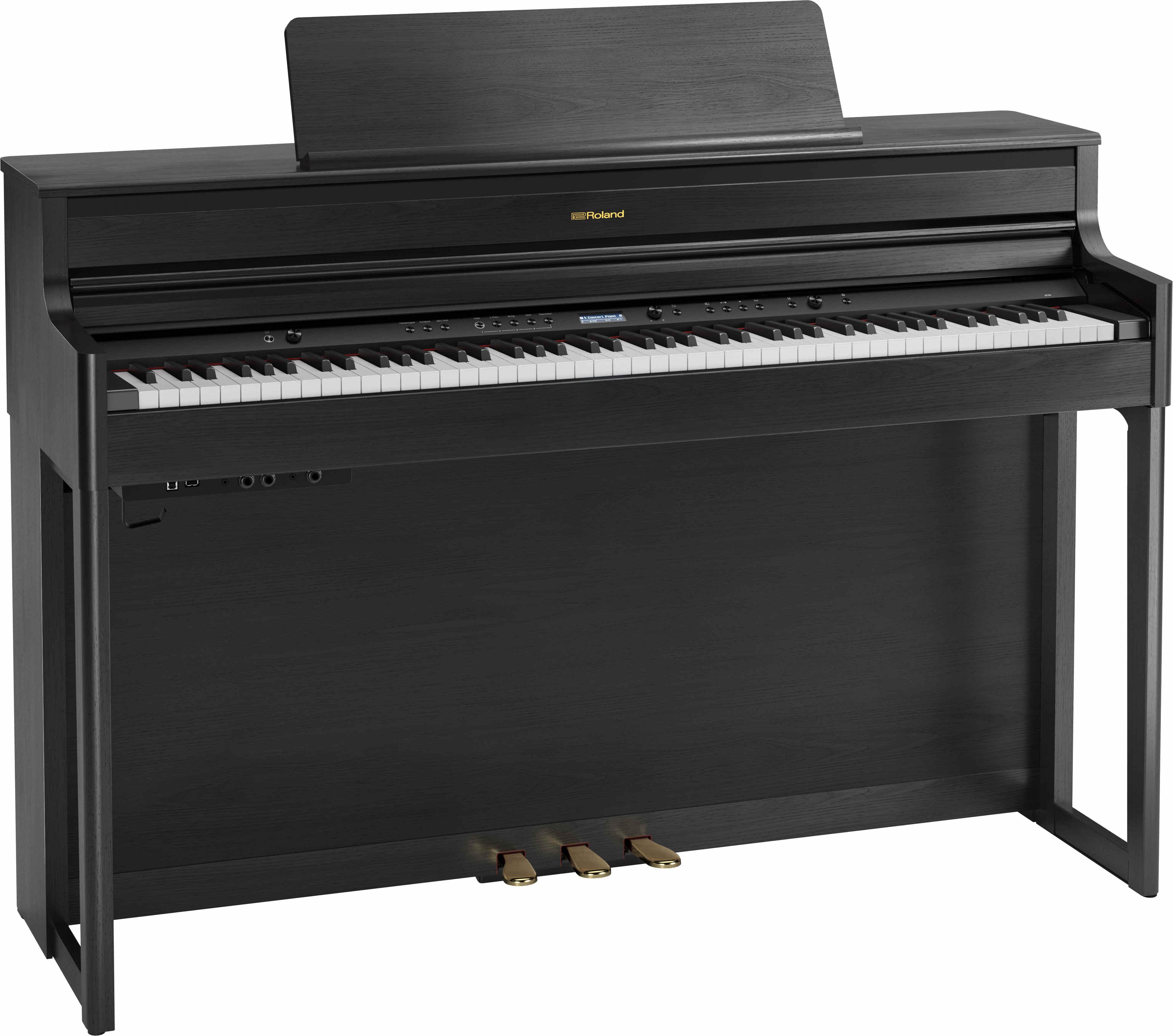 Roland HP-704 Charcoal Black