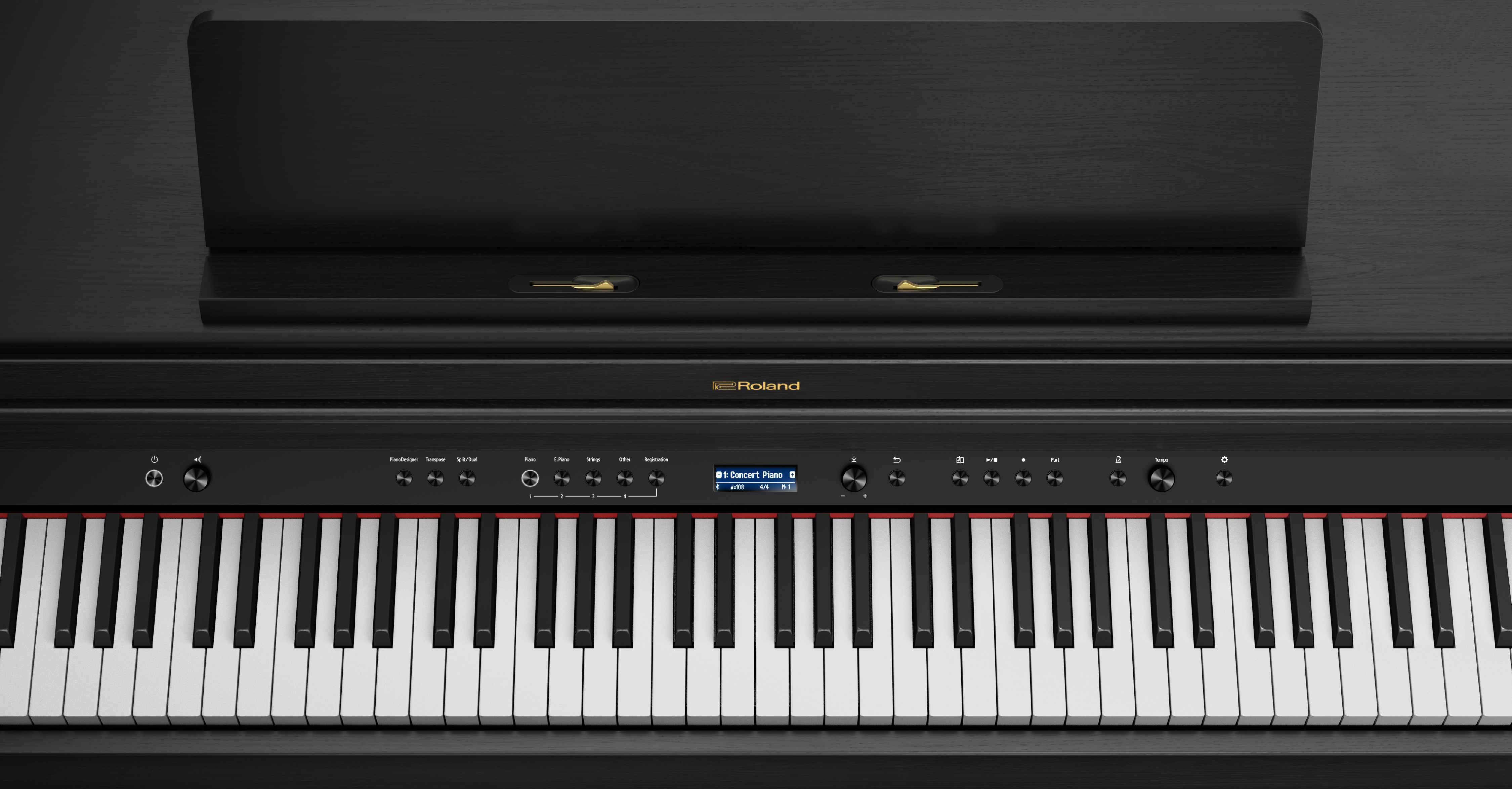 Roland HP-704 CH Buttons