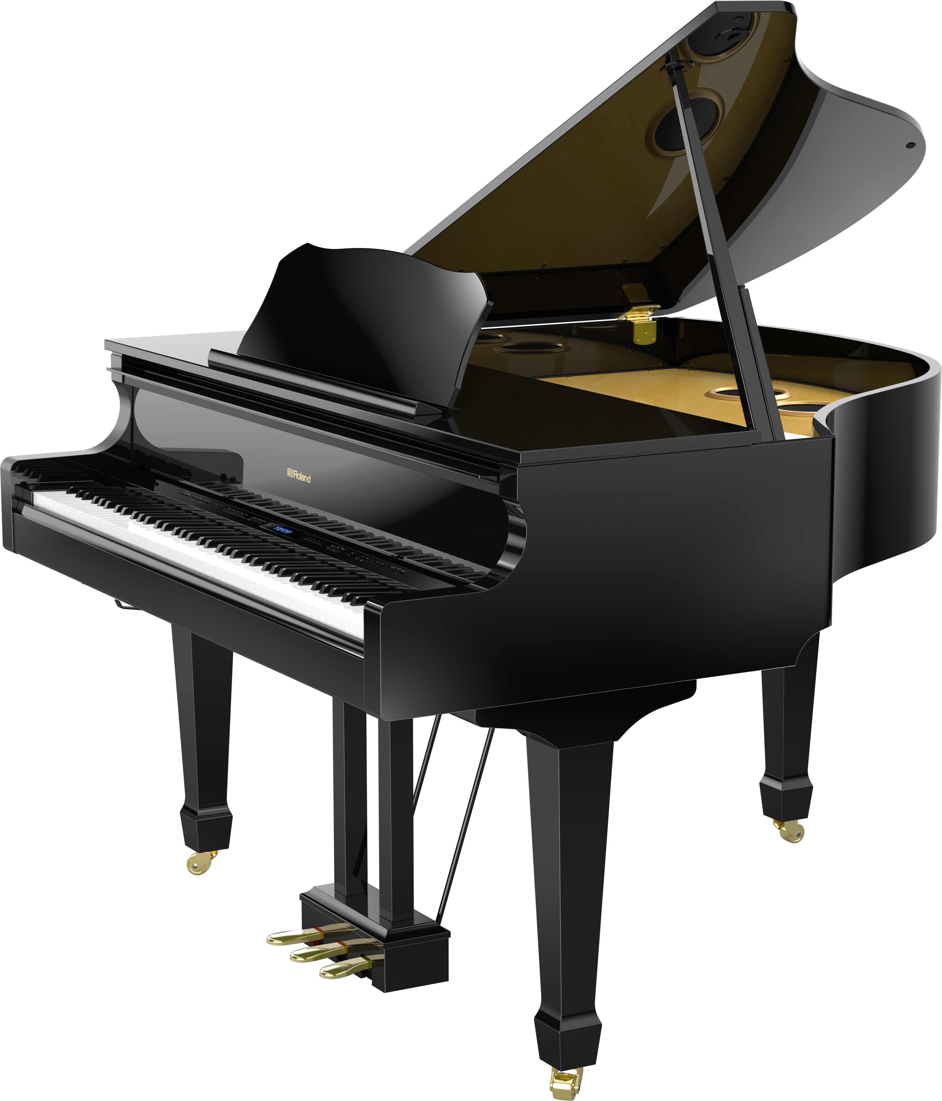 Black Grand Piano Roland GP-609PE