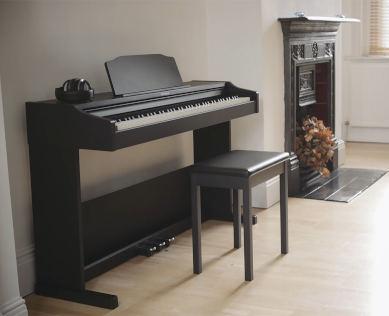 Slim space saving piano