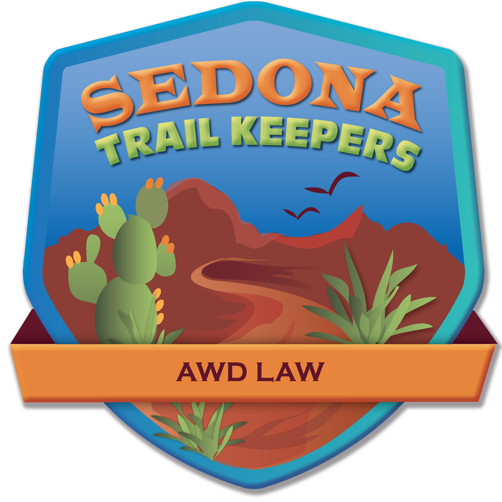 AWD Law® Is a Proud Sponsor of the Sedona Trail Keeper Program