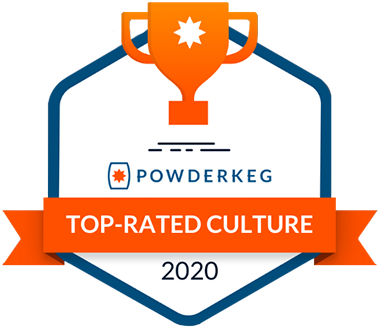 Powderkeg Top-Rated Culture Award - Awarded to Trust Relations in 2020