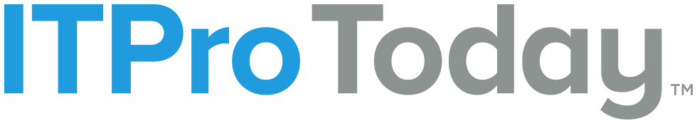 ITPro Today Logo