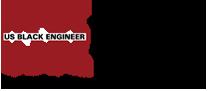 US Black Engineer Logo
