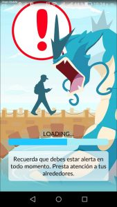 Interfaz Pokémon GO