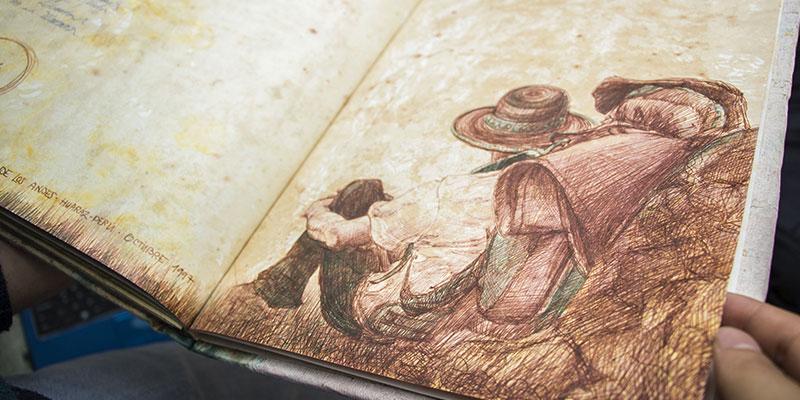 Fotografía del libro