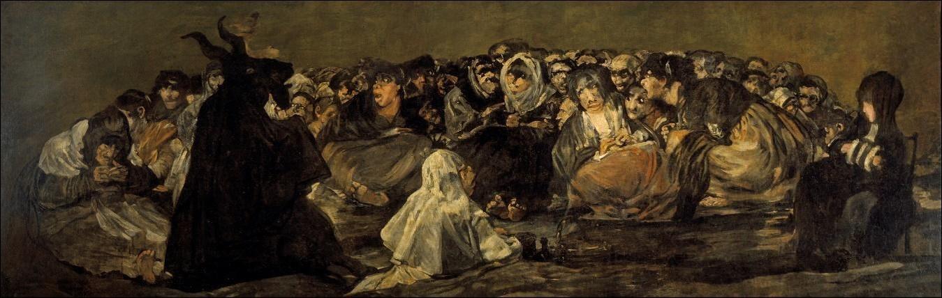El Aquelarre. Goya