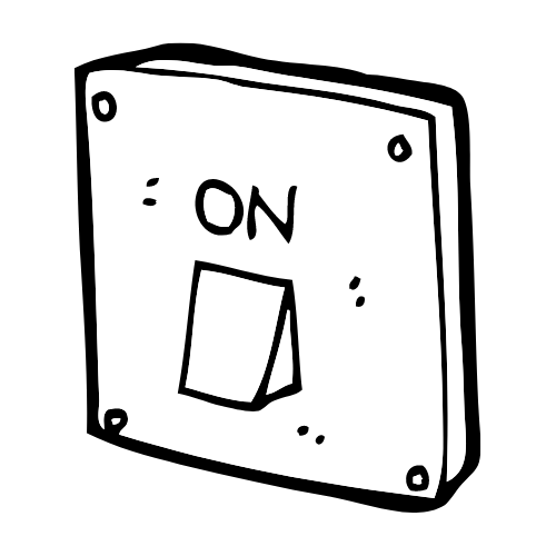A light switch