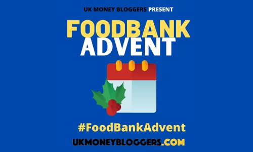Food bank advent campaign banner