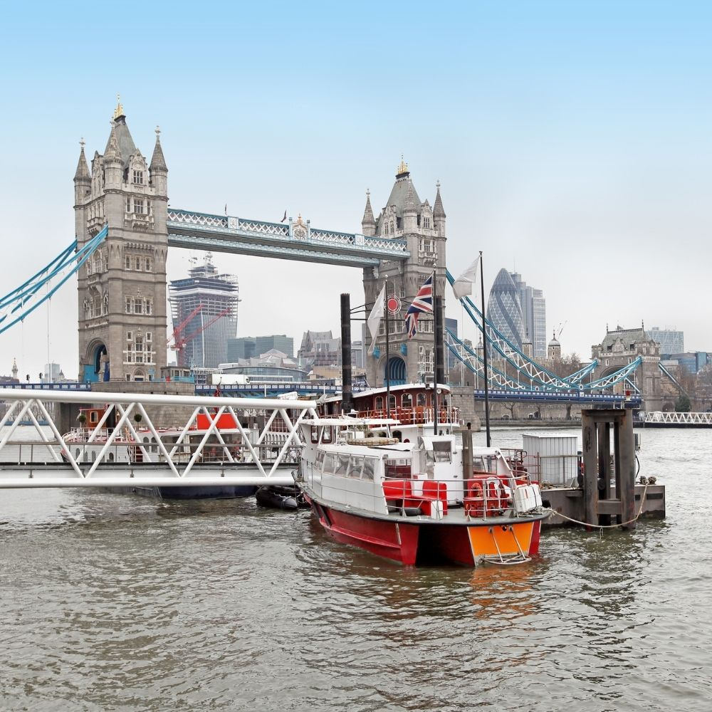 Cruise along the Thames from just £4.60 with Uber Boat