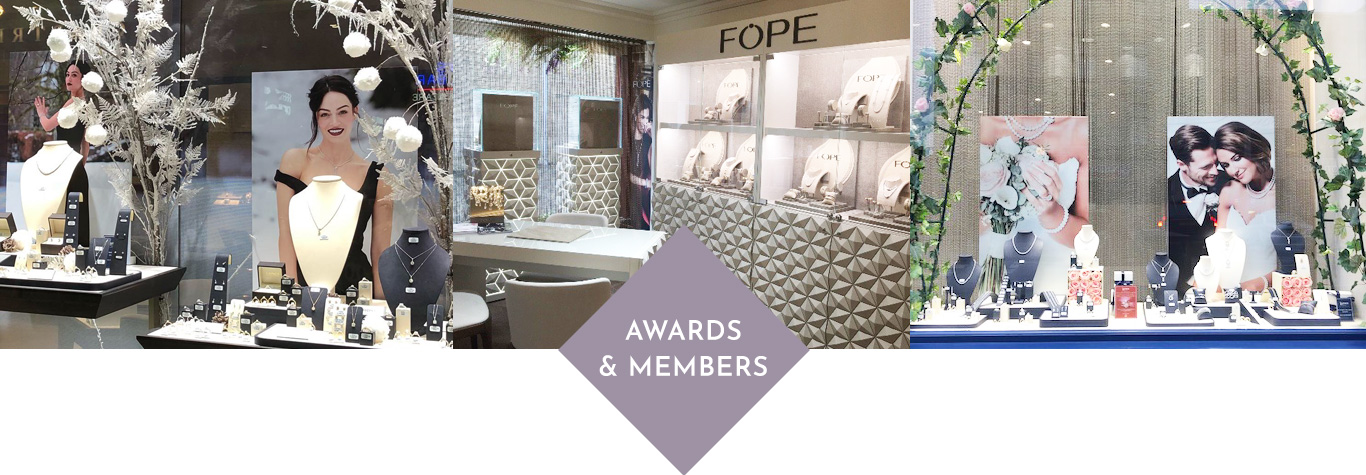 Visual Merchandising & events awards and members