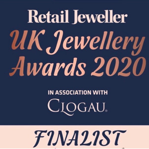 UK jewellery awards finalist logo