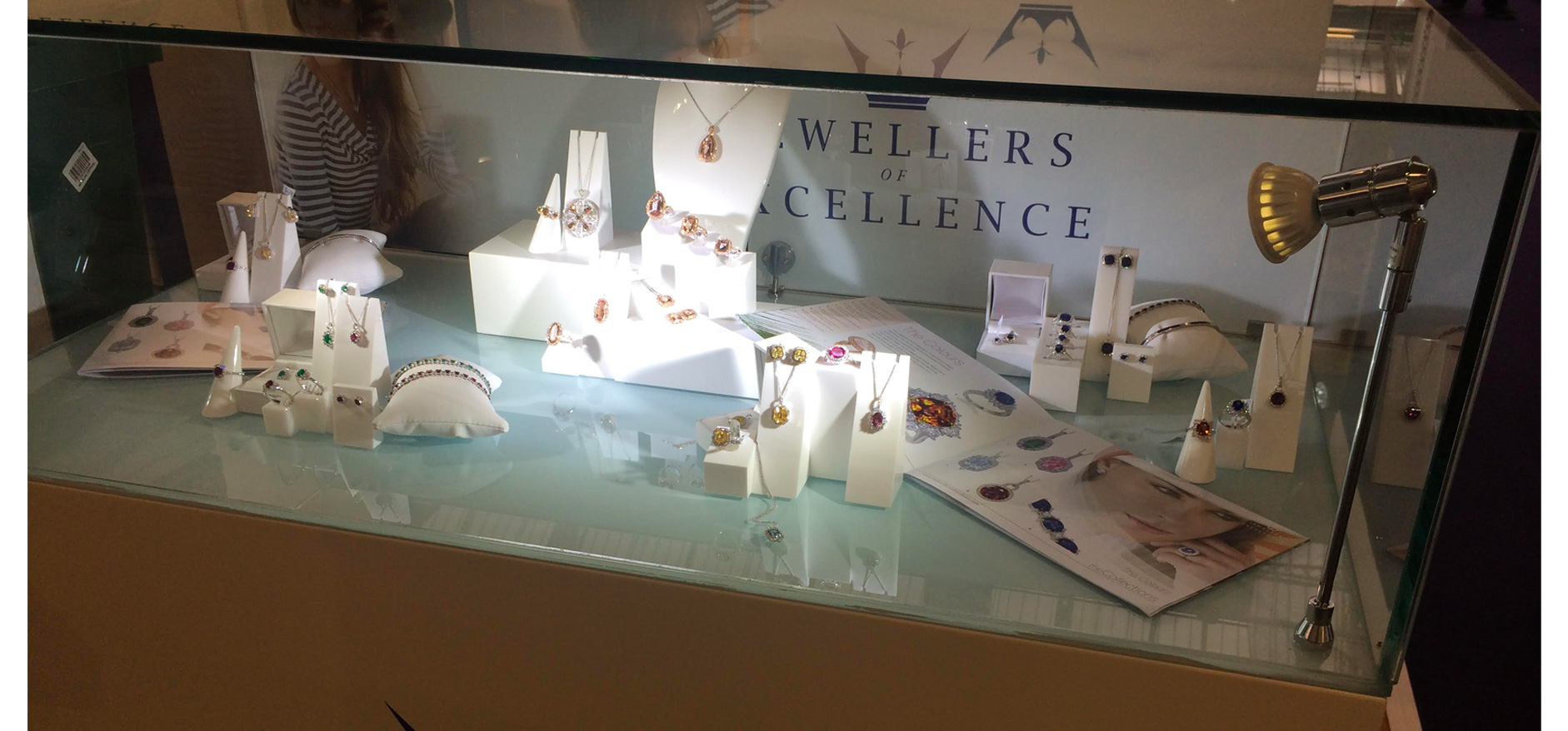 Jewellery professional visual merchandising displays