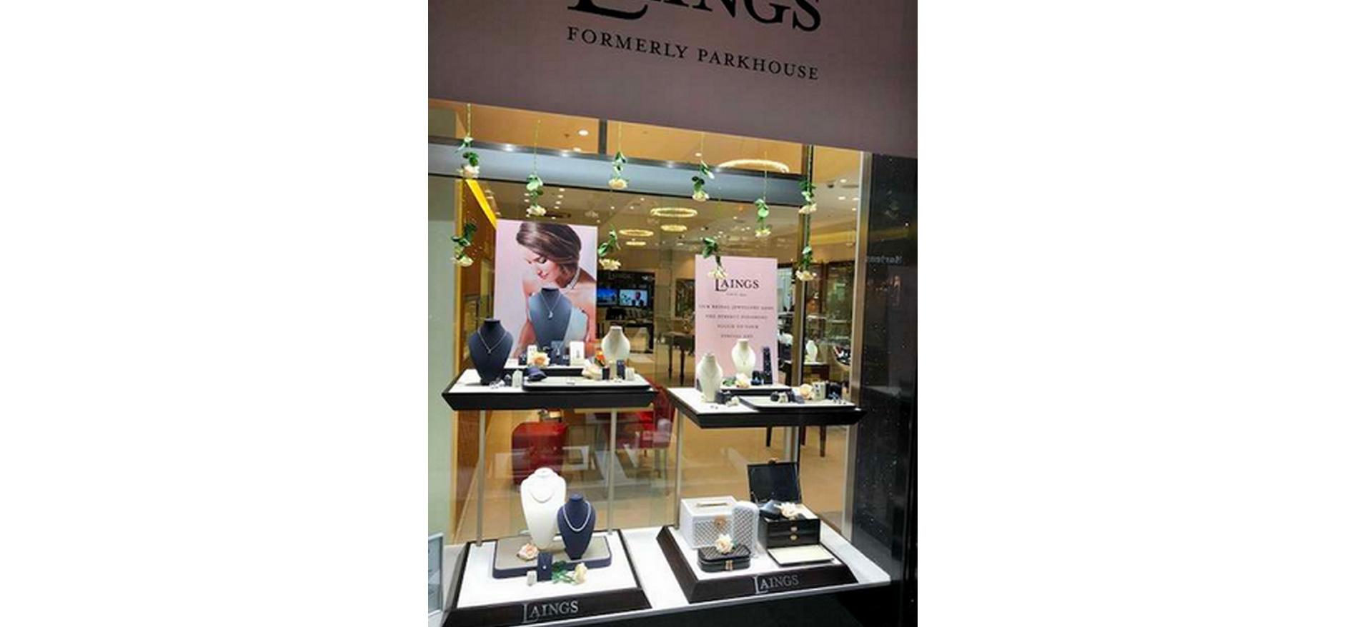 Laings store display