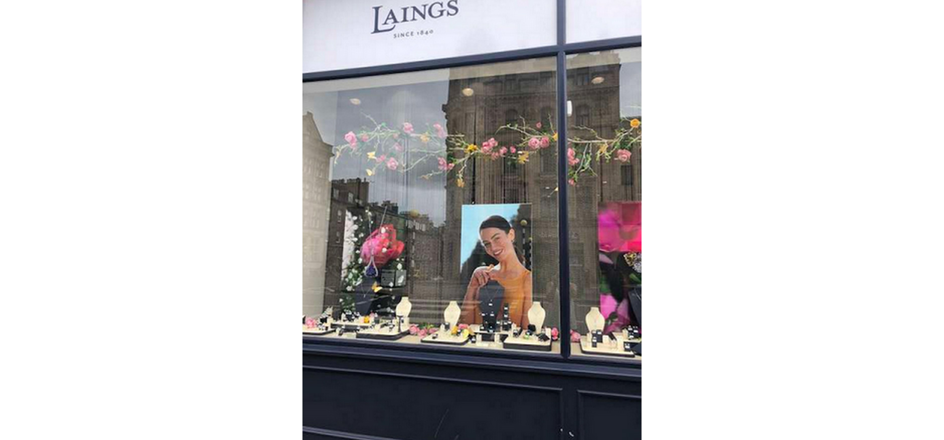 VM&Events floral store display