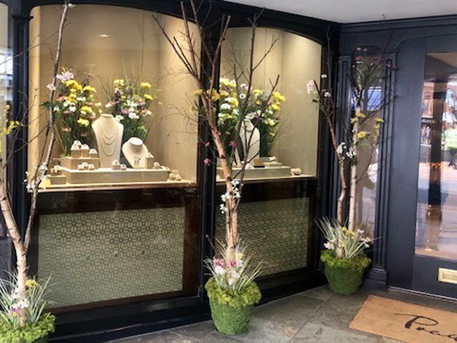 Jewellery shop store front