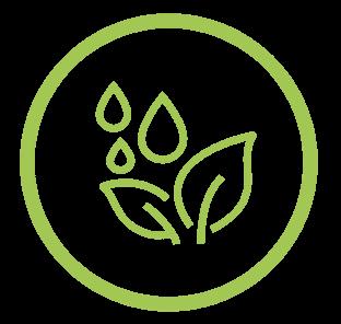 Crop application efficiency icon