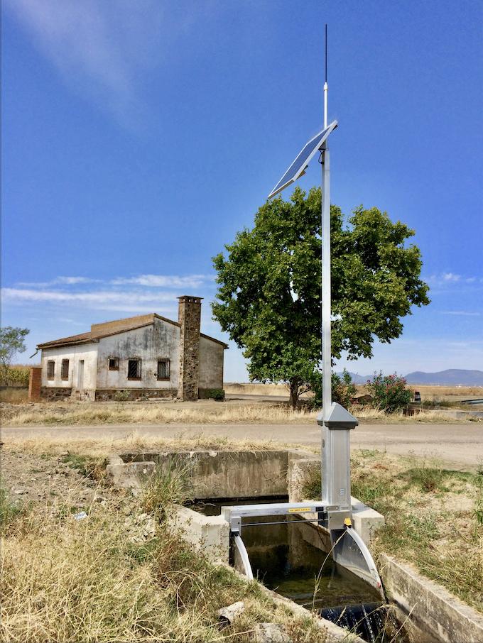 FlumeGate Automated Irrigation Control Structure California