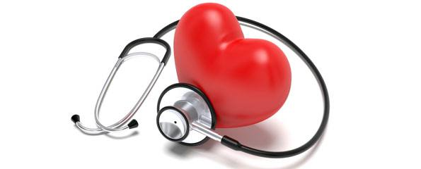Stethoscope with inflatable heart