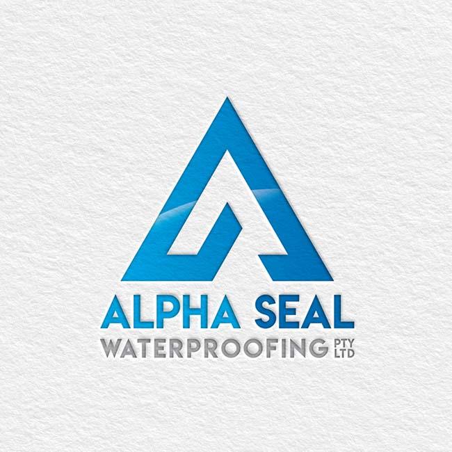 Alpha Seal Waterproofing branding