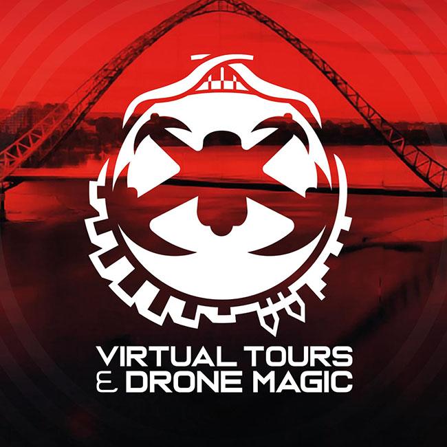 Virtual Tours & Drone Magic branding