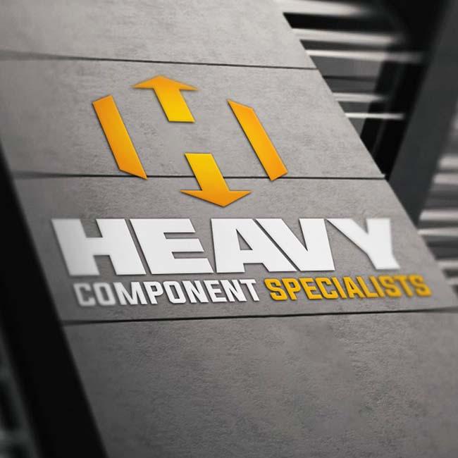 Heavy Component Specialists branding
